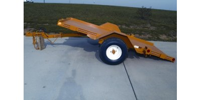 BenchSmart - 8 - 1,200 lb. Capacity Single Axle Tilt Trailer