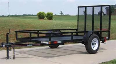 VLGBO 5x10 - Model 1 Ton - Landscape Equipment Trailer