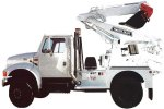 Master Craft - Truck-Mounted Backhoe