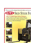 Skid Steer Fork- Brochure