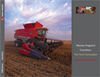 Massey Ferguson - Model 9500 Series - 313 - 460 hp Axial Combines Brochure