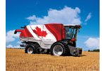 Massey Ferguson - Model 9500 Series - 313 - 460 hp Axial Combines
