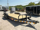 Hank - Model 18ft  - Skid Steer Trailer