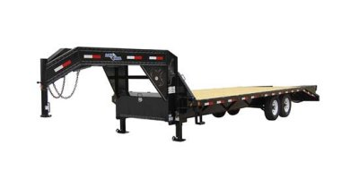 Model GH0216072  - Gooseneck Heavy Duty Trailer