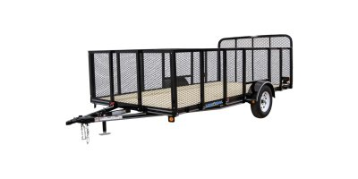 Model LS03 - Channel Frame Single Axle Landscape Trailer
