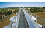 Open Galvanized Catwalks for Conveyors