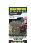 Martatch - Loader Attachments Brochure