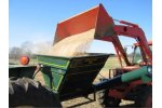 Grain-O-Vator - Model 3GOV35 35 Bushel - Original Self-Unloading Wagon