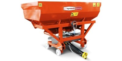 Agrozenit - Model 1000 lt - Single Disc Fertilizer Spreader