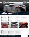 Coose - Model Ranch Hand - Livestock Trailer - Brochure