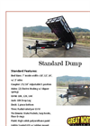 Great Northern - Standard Dump Trailer - Brochure
