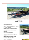 Great Northern - Model 14K - Tilt Trailer - Brochure