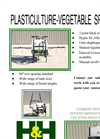 Plasti-Culture Vegetable Sprayer - Datasheet