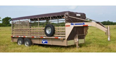 Gooseneck Trailer - Steel Stock Trailer