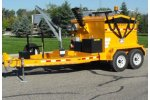 KM International - Model KM 8000T - Four-Ton Asphalt Hot Box Reclaimer Trailers