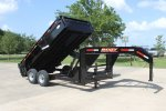 Model GL - Low-Pro Gooseneck Dump Trailer