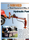 Chassis Mounted Post Pullers Brochure