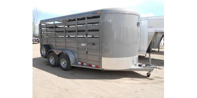 STOCKER - Model CM 16FT - Livestock Trailer