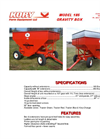 Kory - Model 185 - Bushel Gravity Wagon Datasheet