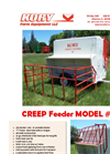 Kory - Model 150 - Creep Feeder Datasheet