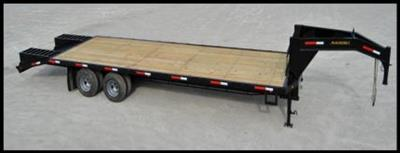 Model 7 Ton - Heavy Duty Gooseneck