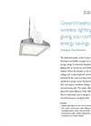 GentleSpace GreenWarehouse - Wireless Lighting System Brochure