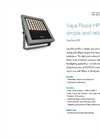 Philips - Model Vaya Flood HP - White/Color-Changing Floodlight Datasheet