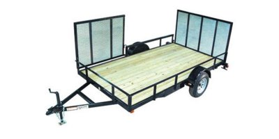 Model 6-1/2 x 12 - Side Ramp Landscape / ATV Trailer
