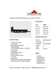 Tandem Axle Utility Trailers (9,900 lbs. GVWR) Datasheet