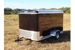 Single Axle Enclosed Trailer