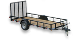 Appalachian - Single Axle ATV Utility Trailer