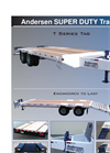 Andersen - Model E & T Series - Tag Equipment Trailers - Brochure