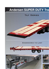 Andersen - Model Tilt Series - Super Duty Trailers - Brochure