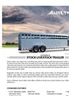 Stock - Gooseneck Livestock Trailers Brochure