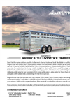Show - Gooseneck Cattle Trailers Brochure