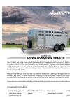 Stock - Bumper Pull Livestock Trailers Brochure