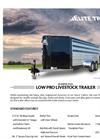Low Pro - Bumper Pull Livestock Trailers Brochure