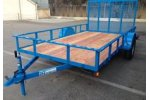 Model 30SA - 68SA - 35SA - Single Axle Utility Trailers