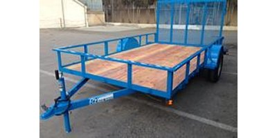 DV Trailers - Model 30SA - 68SA - 35SA - Single Axle Utility Trailers