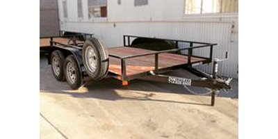 DV Trailers - Model 50TR - Tandem Axle Utility Trailer