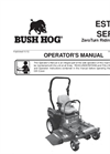 Zero Turn Mowers  Estate Series- Brochure