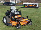 Mid-Mount O-Turn Lawn Mower