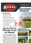 Round Bale Transport 7000 Series- Brochure