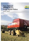 Large Square Balers- Brochure