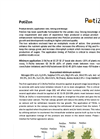PotiZon - Specifically Formulated Element Brochure