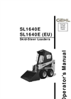 Skid-Steer Loaders 1640E Series- Brochure