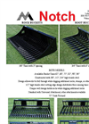 Notch - Model RB - Rock Buckets- Brochure
