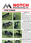Notch - Model TF - Tine Fork Brochure