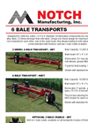 Notch - Model 6BT - 2 Wheel 6 Bale Transport- Brochure