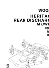 Rear Mount Finish Mowers RD 60 Series- Brochure